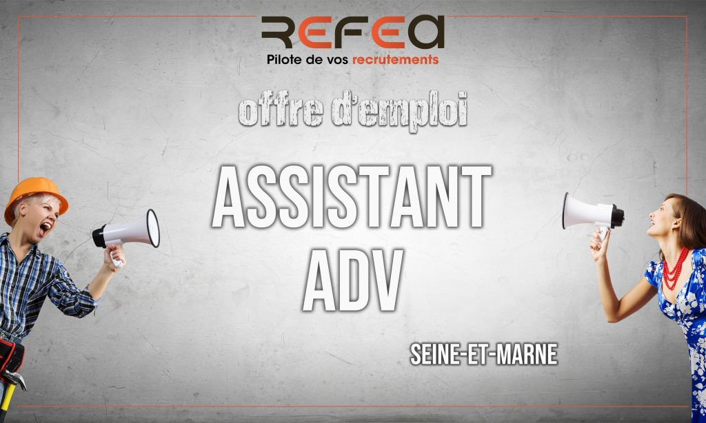 Assistant ADV (F/H)