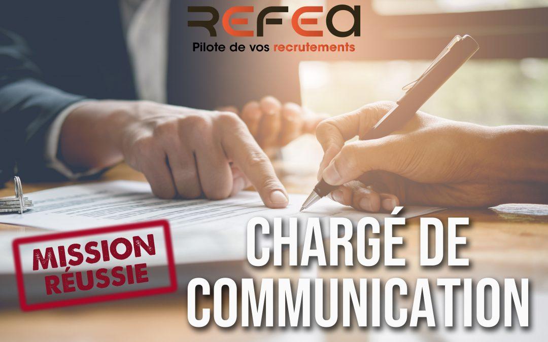 Mission Réussie – Chargé de Communication (F/H)