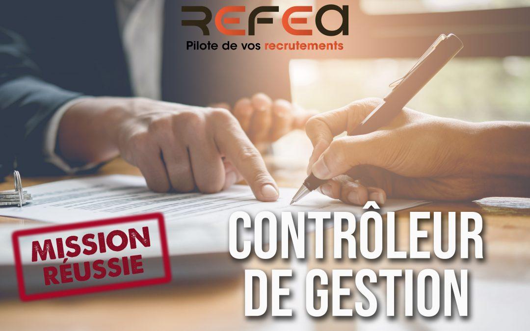 Mission Réussie – Contrôleur de Gestion (F/H)