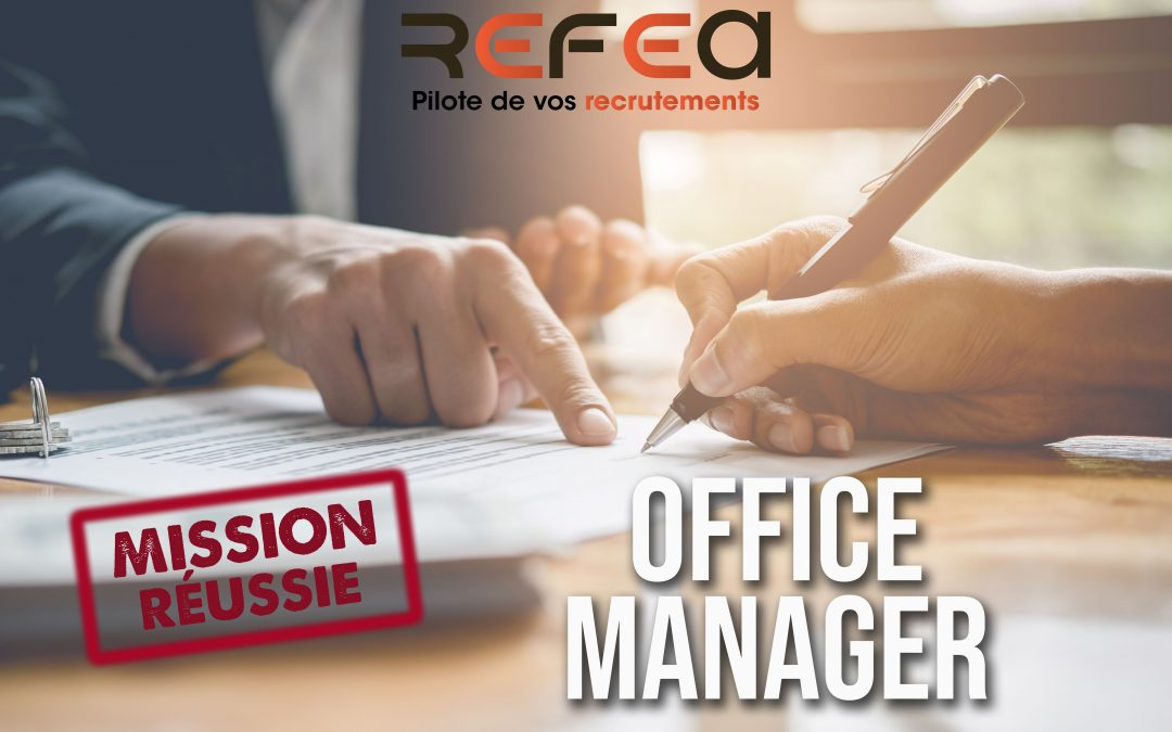 Office Manager (F/H)