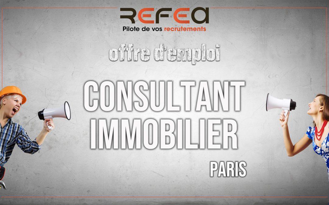 Consultant Immobilier Entrepreneur (F/H)
