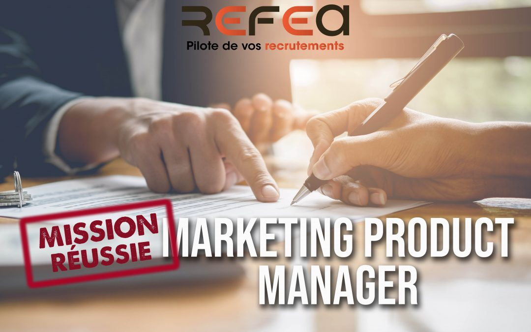 Mission Réussie – Marketing Product Manager (F/H)