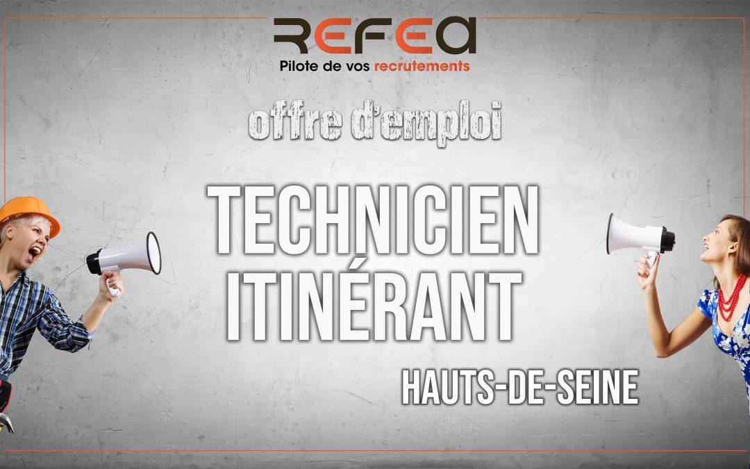 Technicien Itinérant (F/H)