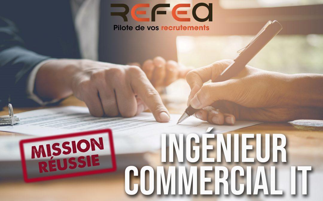 Mission Réussie – Ingénieur Commercial IT (F/H)
