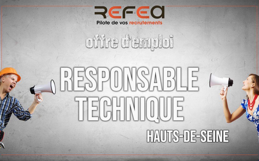 Responsable Technique (F/H)
